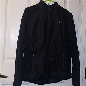 Champion black jacket ♥️